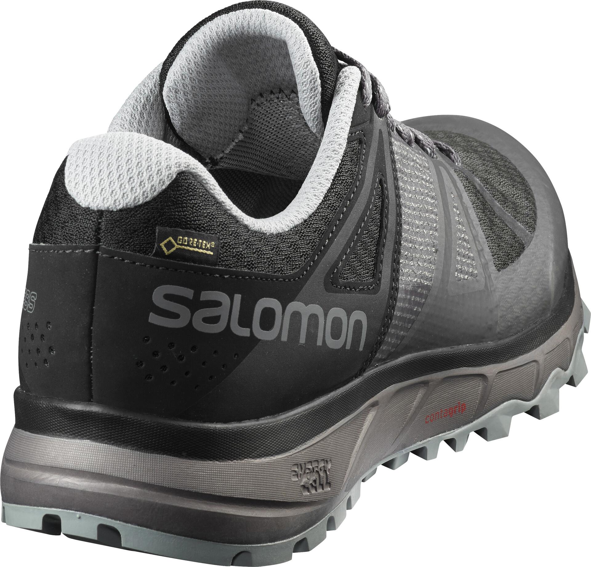 Salomon Buty do biegania Trailster GTX MagnetBlackQuarry r
